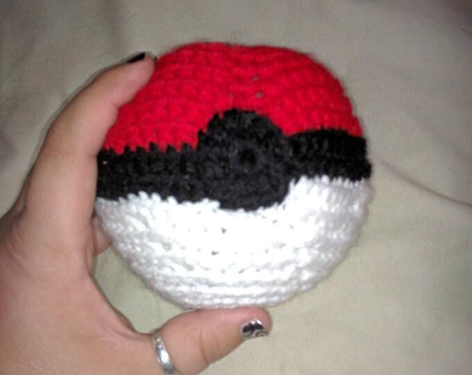 Crocheted Pokeball