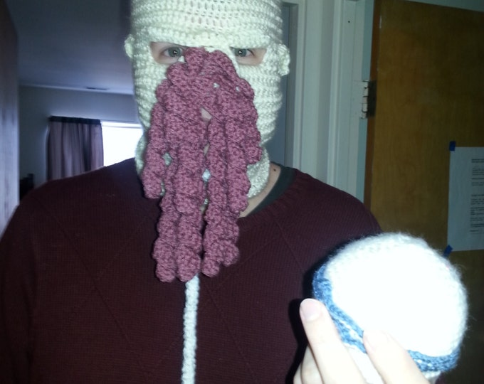 Ood Crocheted Ski Mask