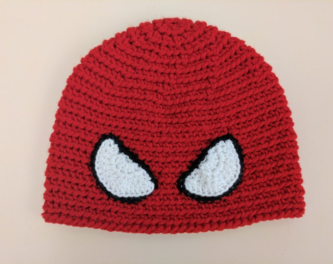 Spiderman Crocheted Hat