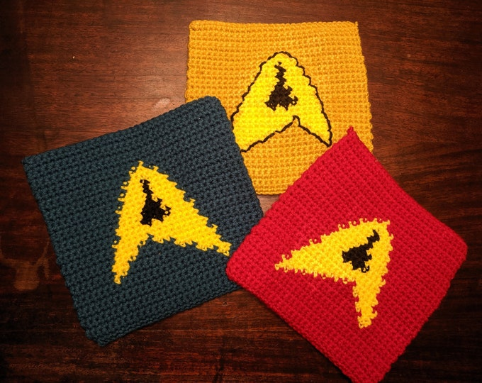 Star Trek Potholders