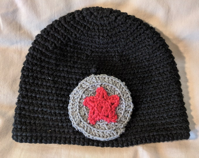 Winter Soldier Crocheted Hat
