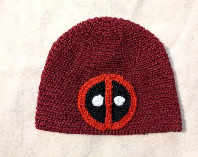 Deadpool Crocheted Hat