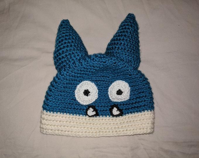Munchlax Crocheted Hat