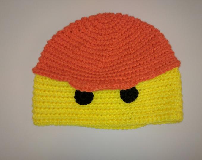 Lego Emmett Crocheted Hat