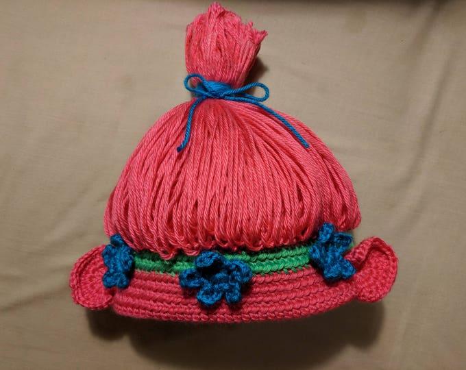 Princess Poppy Crocheted Hat