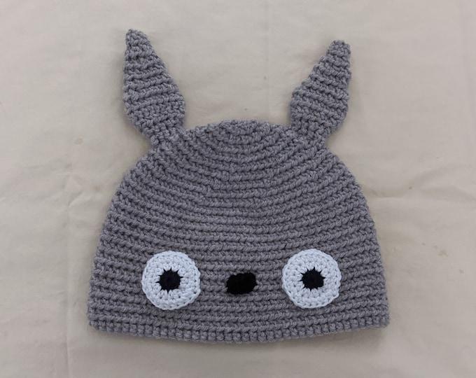 Totoro Crocheted Hat