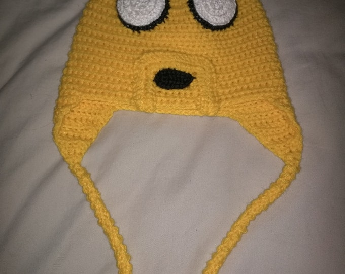 Jake the Dog Crocheted Hat