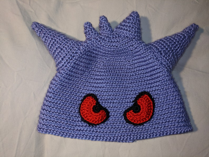 Gengar Crocheted Hat
