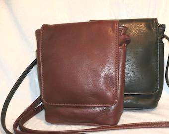 LEATHER ADJUSTABLE STRAP Crossbody Bag Style # 200
