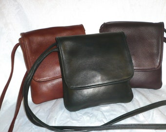 CROSSBODY CELL PHONE  Leather Bag Stye #176XW