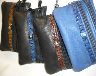 Wristlet with removable wrist strap Style #2ZW