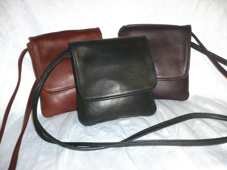 CROSSBODY CELL PHONE  Leather Bag Stye 176XW image 0