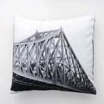 Pillow cover Jacques-Cartier Bridge - landmark of Montreal