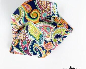 Paisley Print Handmade Mask