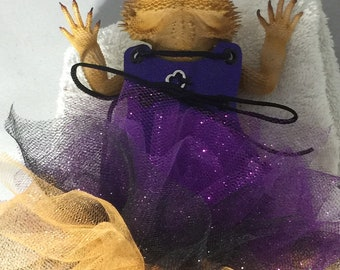 Dragon Wings and Things Adult Bearded Dragon Halloween Dress/Costume