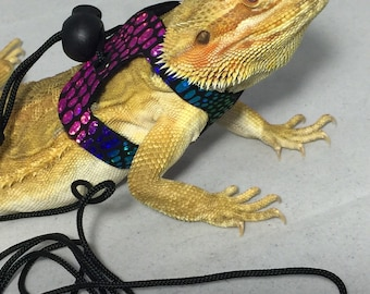 Dragon Wings and Things Adult Bearded Dragon Harness / Leash