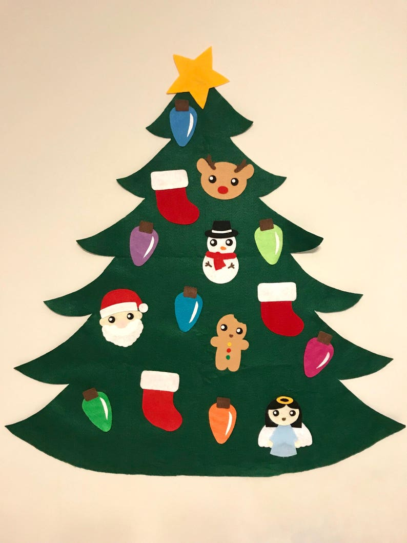 Felt Christmas Tree image 0