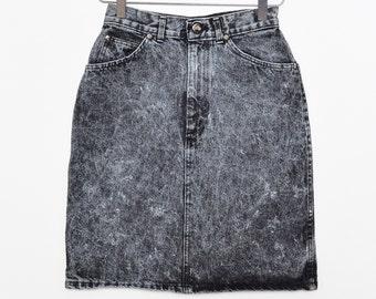 2c1c8775d63b Punk jeans skirt   Etsy