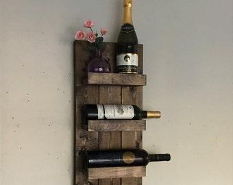 Modern Wine Rack Etsy