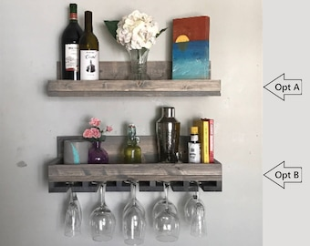 Wine Glass Rack Etsy