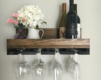 Wall Wine Rack Etsy