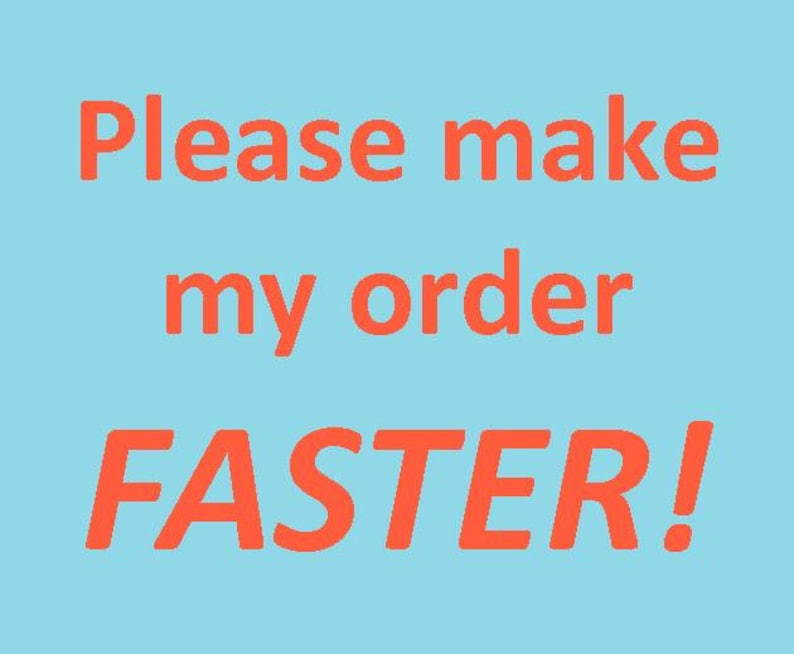 Make my item FASTER please  : image 0