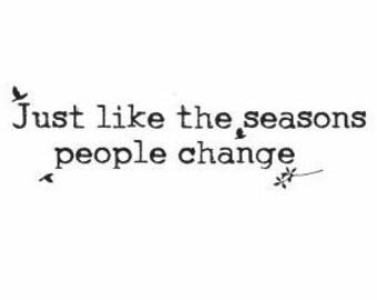 Seasons Quotes Etsy