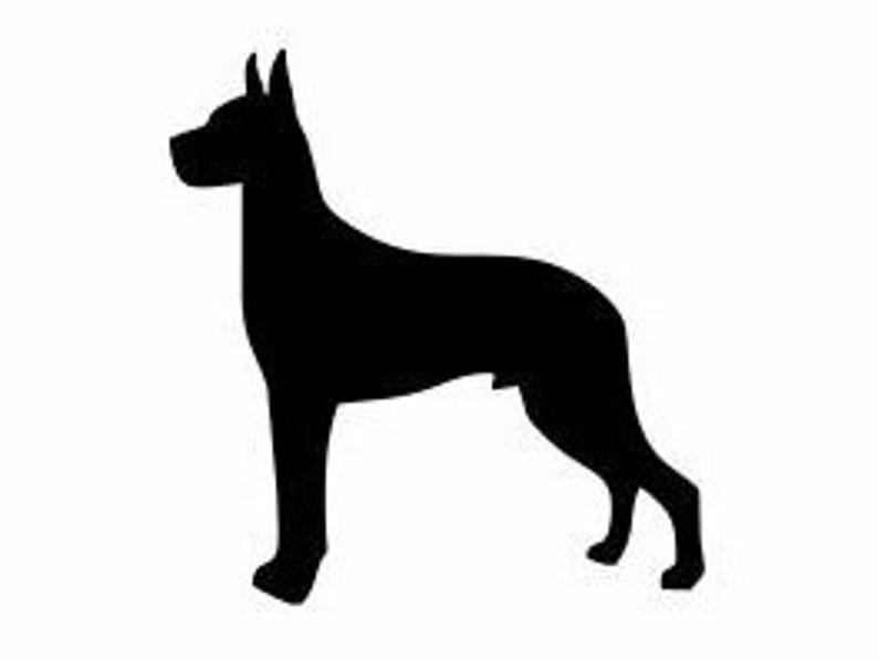 Great dane//dogue allemand chien acrylique miroir