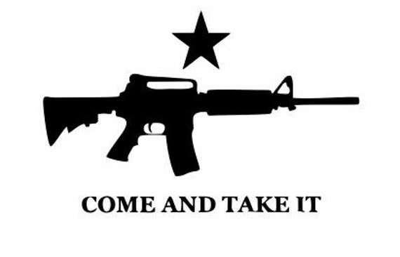 Weapon Motto Quote Wall Door Art Decal Sticker Picture Poster Gun Try Me