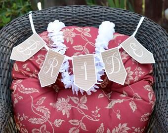 Printable Bride To Be Banner PDF Download