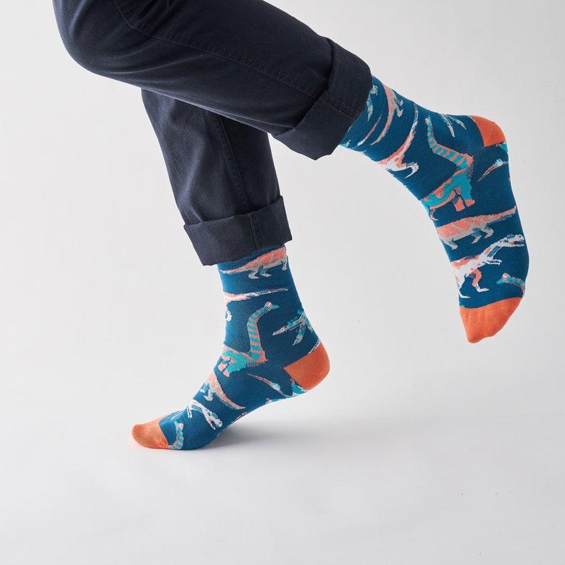 d12e97df72a Dinosaur socks groomsmen socks mens socks premium socks