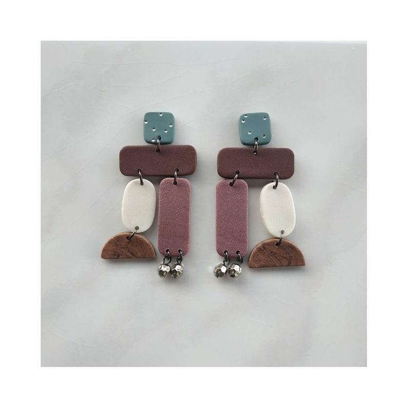 ultra light earrings neutral handmade earrings minimal jewellery