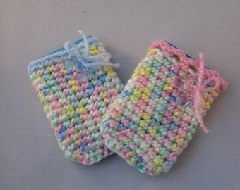 Handmade Crocheted Baby Gift Card Holders/ Baby Shower Gift/Easter Baby Gift/ Gift Card Holder/ Money Wallet/ Money Holder/ Card Holder