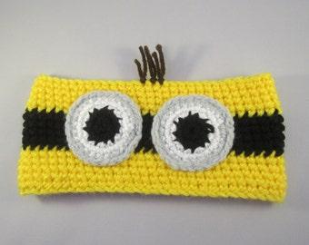 Yellow Buddy Handmade Crocheted Ear Warmers for Baby/Toddler Ear Warmers/Child Ear Warmers/Christmas Gift/Stocking Stuffer