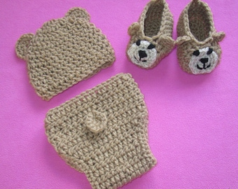 Baby Photo Prop/ Teddy Bear Outfit/Baby Shower Gift/Halloween Set