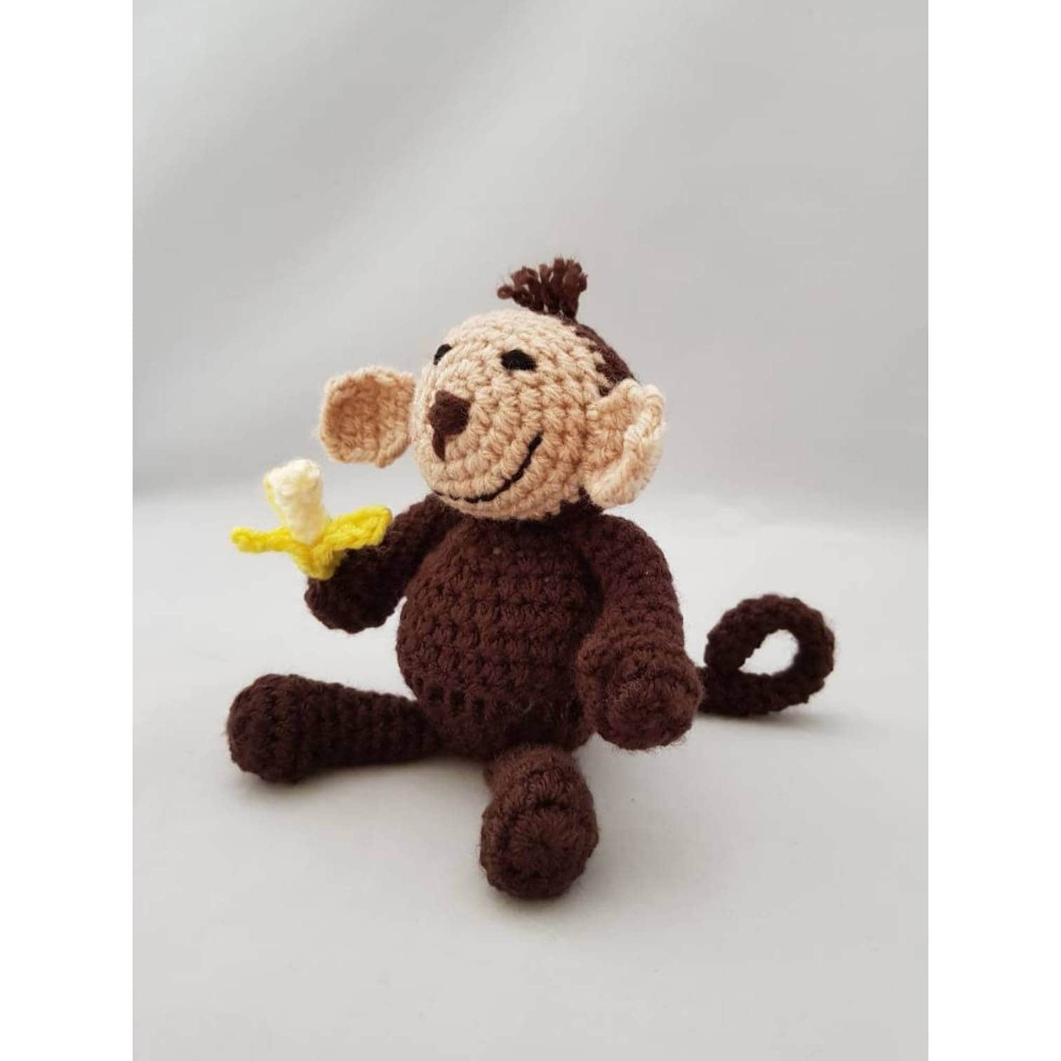 Amigurumi Toy Monkeys | Monkey in browns and green/ecru comb… | Flickr | 1512x1512