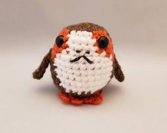 Handmade Crocheted Baby Galactic Bird Amigurumi Soft Toy/Baby Bird Plushy/ Baby Bird Doll/Nursery Decor/Kid's Room Decor/ Stocking Stuffer