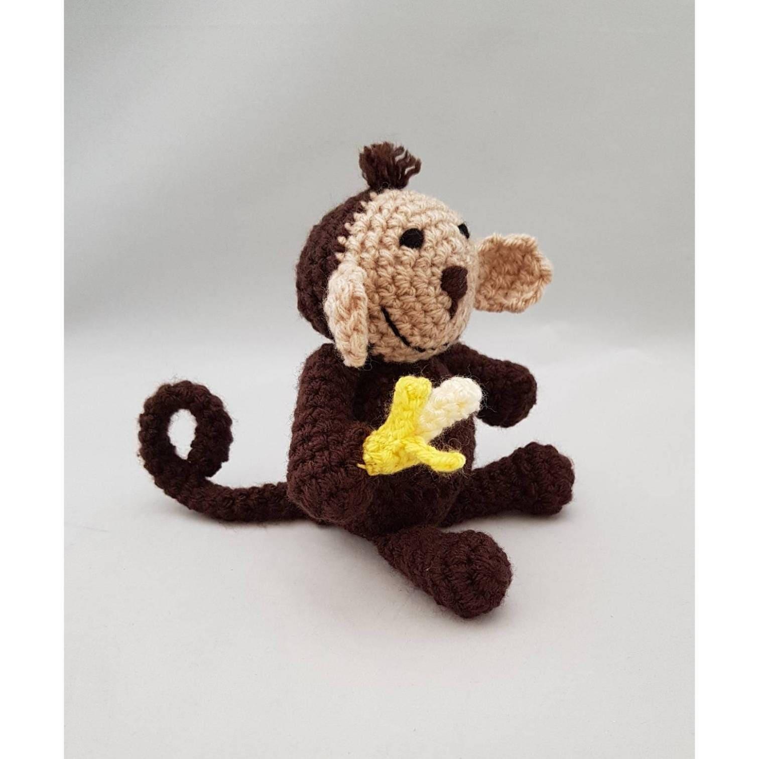 Amigurumi Crochet Toy - Monkey 8