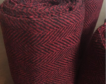Winingas - Viking - Norse - Anglo-Saxon Leg Wraps deep red burgundy