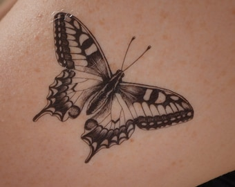 Butterfly Tattoo Etsy