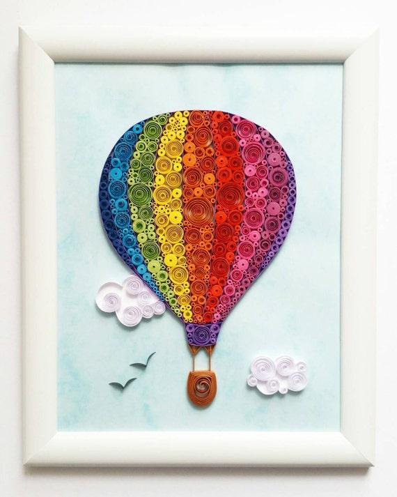 Hot Air Balloon Wall Art