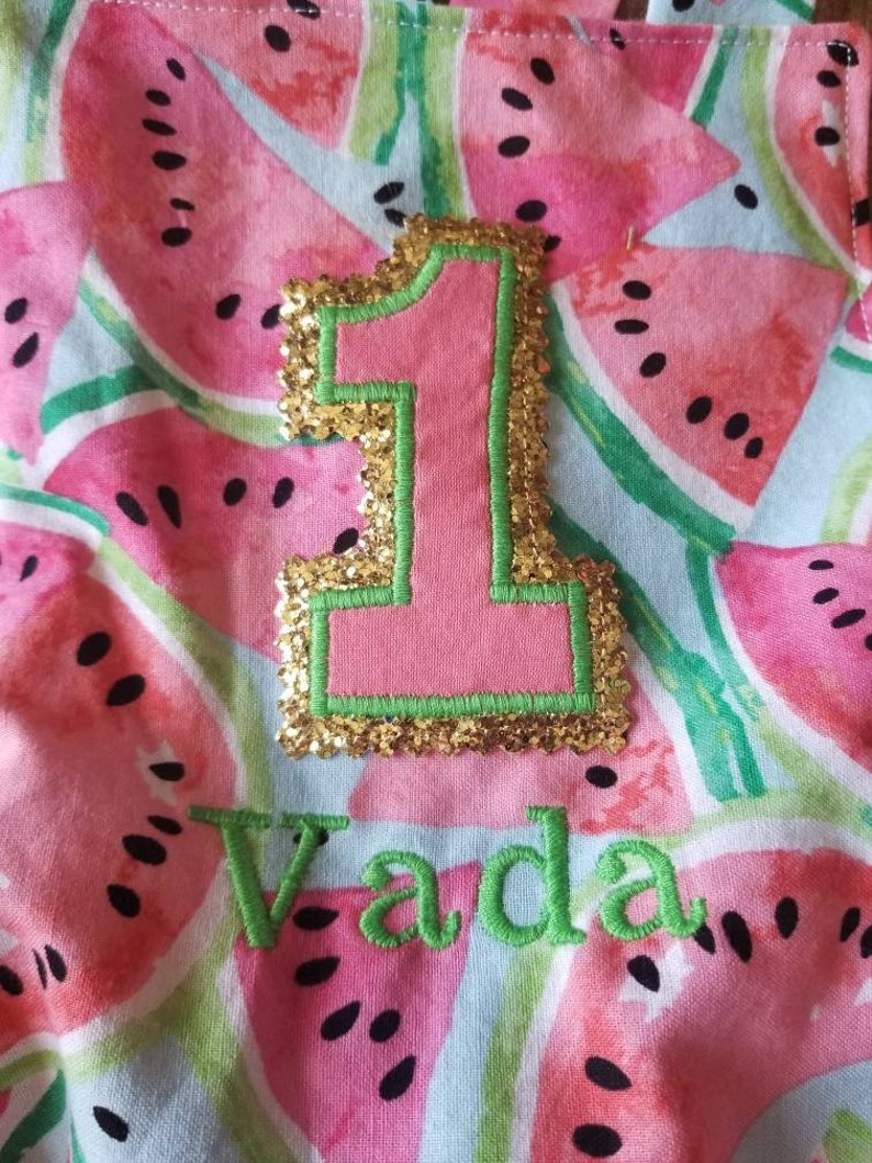 cad8c5bf75ee 1st First Birthday Outfit One in a Melon Watermelon Summer