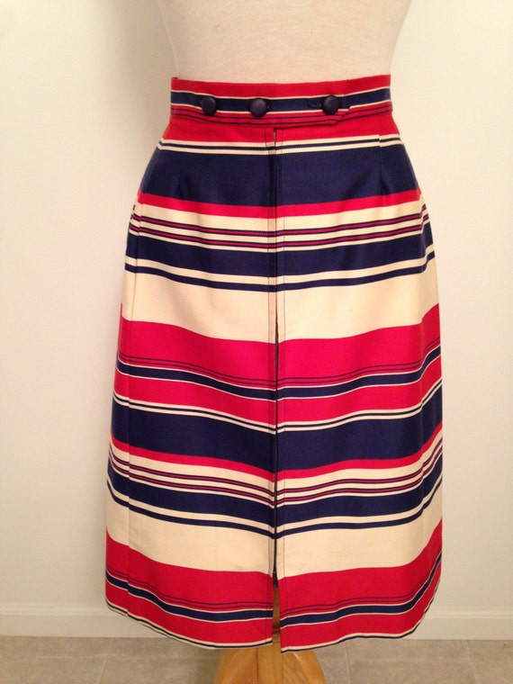 Vintage Pat Primo-California Patriotic Skirt