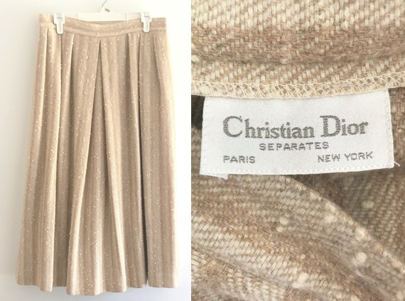 Vintage Skirt Christian Dior Separates