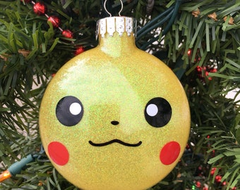Pokemon Christmas Ornaments.Pokemon Ornament Etsy