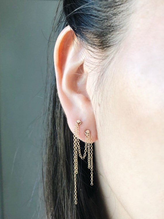 Fringe Ear Chain