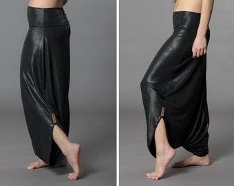 2bf8cee3f46 Harem leather pants