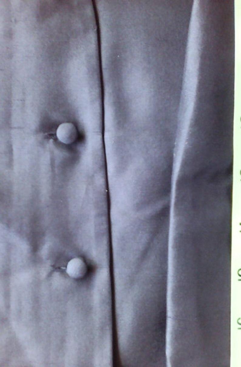 ADRIANNA PAPELL Designer Black Jacket is Black Jacket is Jacket for Evening Wear is Silk Jacket is Vintage Adrianna Papell