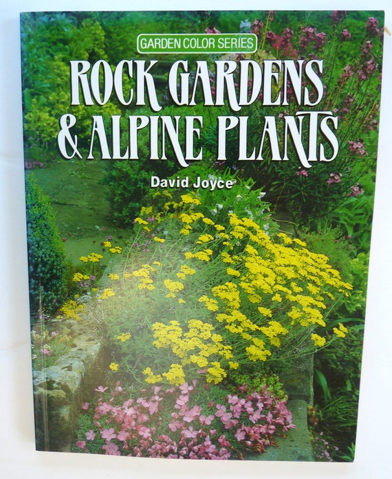 Rock Gardens Alpine Plants Joyce book vintage gardening   Etsy