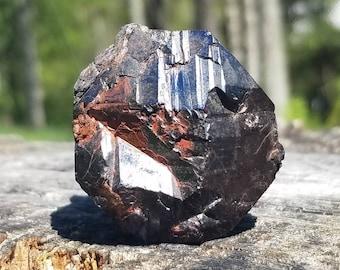 Rutile Crystal with Turgite